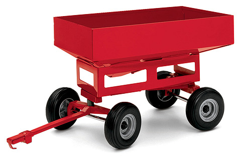 Case IH Farmal Gravity Wagon Box Trailer Ertl NEW Steel